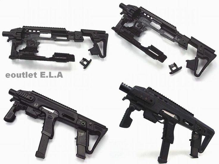 팬저의 국방여행 : 권총도 변신한다 CAA RONI G1 키드