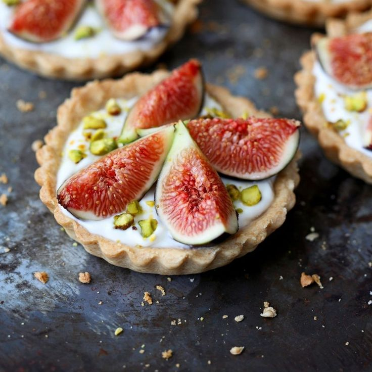 Fig and yogurt tarts Recipe on Food52 recipe on Food52