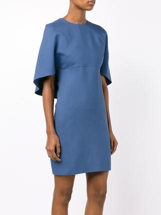 Valentino платье с рукавами-накидкой