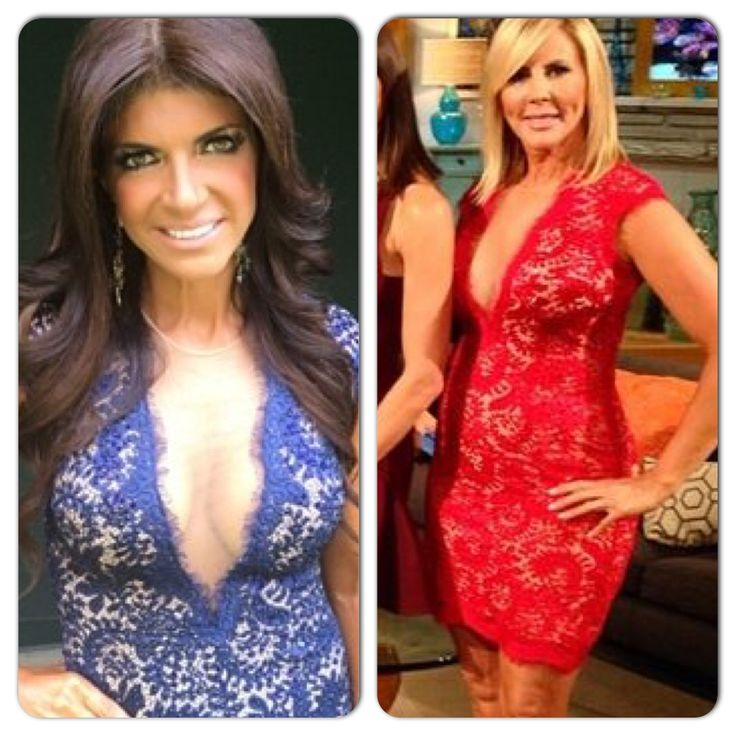 The Real: Vicki Gunvalson's Red Lace Season 9 Reunion Dress | Real Housewives of Orange County http://www.bigblondehair.com/real-housewives/rhoc/vicki-gunvalsons-red-lace-season-9-reunion-dress/