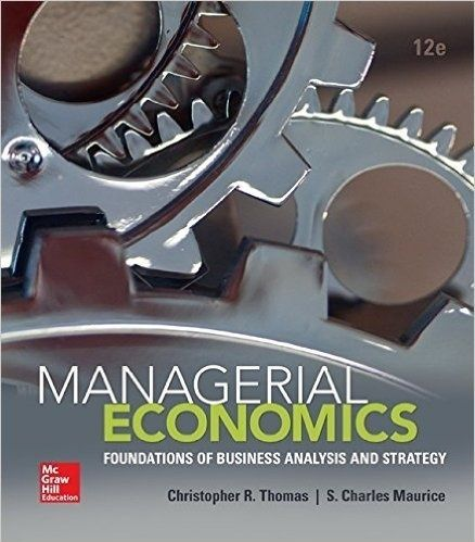 "Managerial Economics 12th Edition by ThomasISBN: 9780078021909It is a PDF eBook Only ! ! Digital Book Only! . Download File ""IMMEDIATELY"" after successful payment. Buyers will receive the Download Link in the Buyer's Order Confirmation Email upon completion of purchase.You can print this eBook or re"