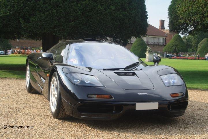 Concours Hampton Court 2014, McLaren F1 Jet Black
