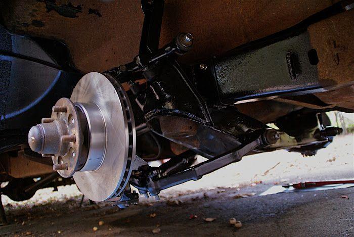 Tech Week Jag Xj6 Ifs Into F100 Ifs Rodder Mustang Ii