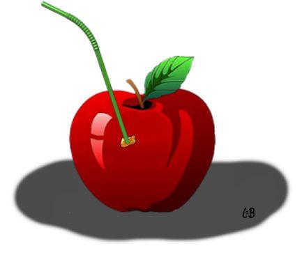 Spreekwoord: een appeltje voor de dorst hebben