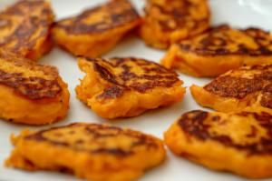Sweet popatoes pancakes - Credit: yula/Getty Images