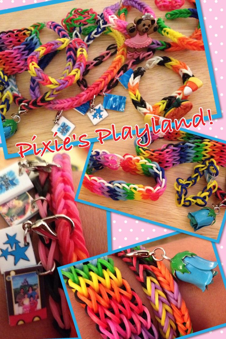 Rainbow Loom! All Bracelets Were Made Without A Loom Ours Hasn'te