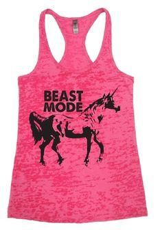 Beast Mode Workout T     Beast Mode Workout Tank  #fitness   #crossfit   #workout   #unicorns   #fit   #gym