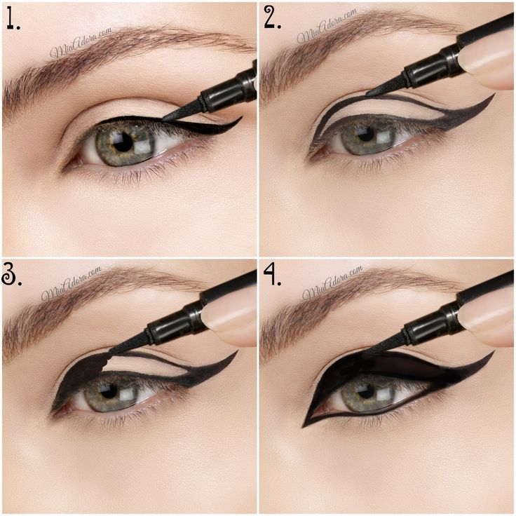 Anyone can make the perfect cat eye with this eyeliner gel pen!!!
