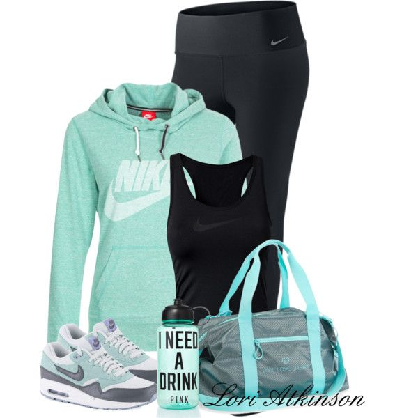 """""""Workout Time"""" by latkins77 on Polyvore"""