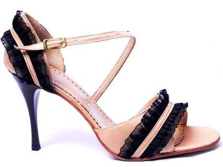 Details Of ShoeChampagne LadyTango-Wear