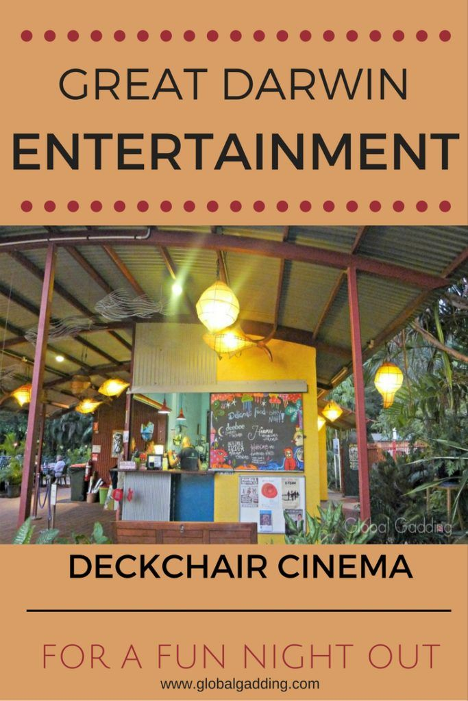ICONIC DARWIN DECKCHAIR CINEMA –  Every Picture Tells A Story