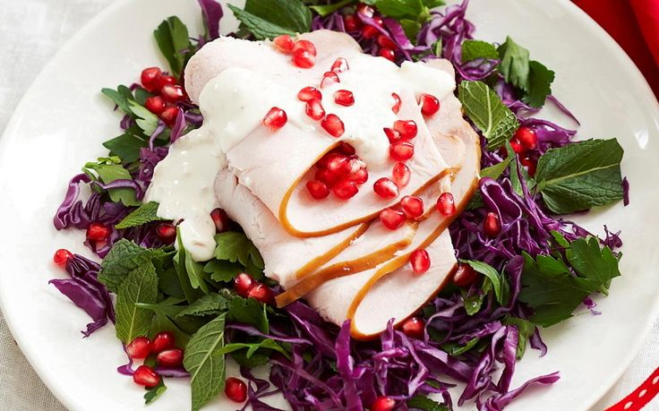 Cold turkey salad
