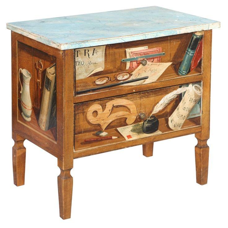 49 best trompe l 39 oeil ideas images on pinterest painted furniture ches - Trompe l oeil toilette ...