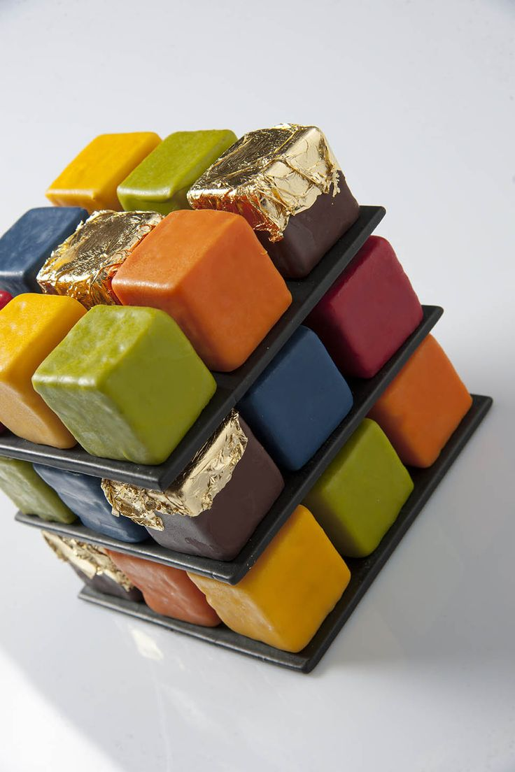 Rubiks Cake by Cédric Grolet