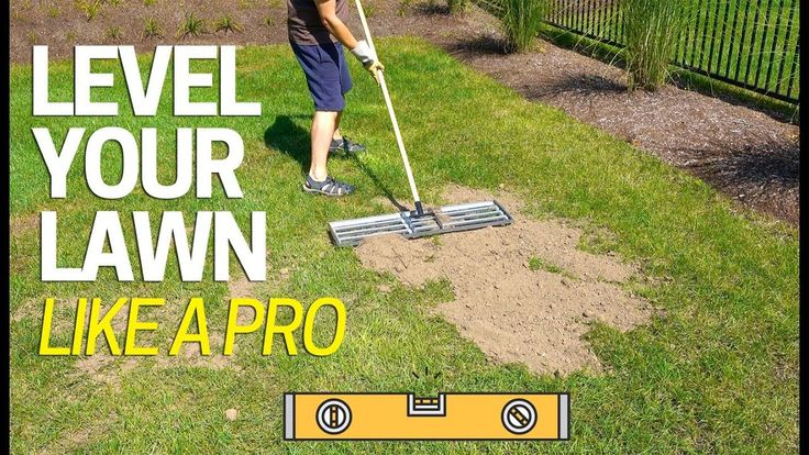 Level Your Lawn Low Spots Like a Pro - Tool for Sand Soil ...