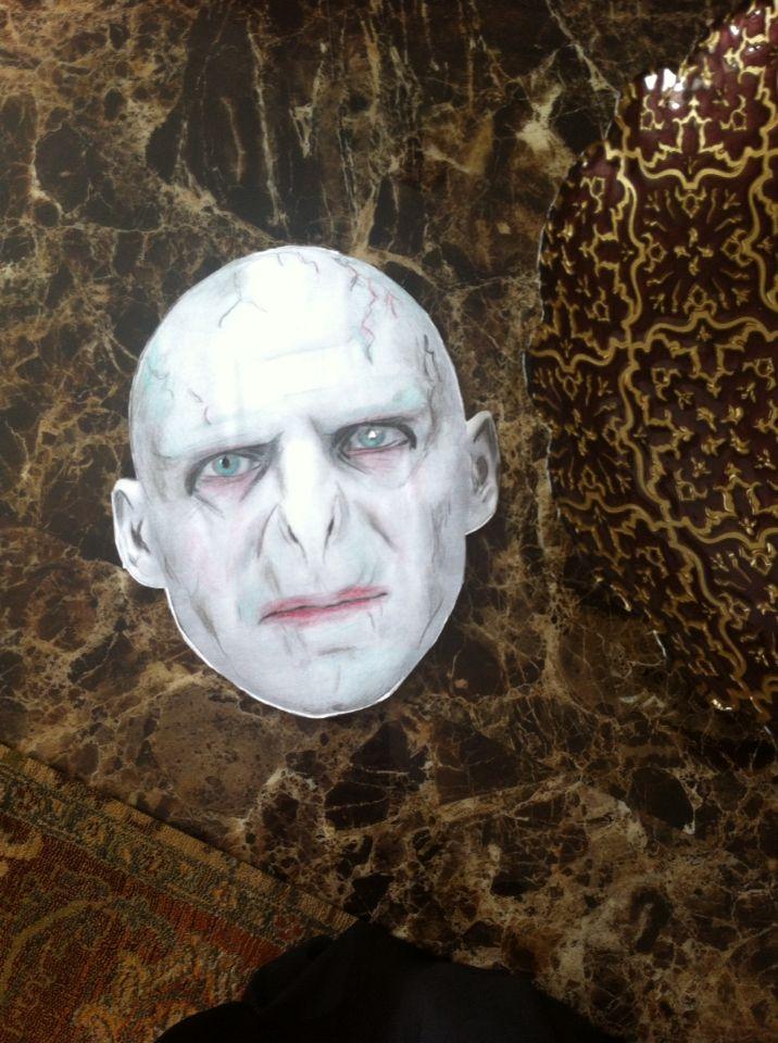 Handmade Voldemort Mask