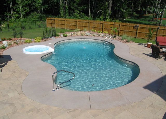 19 best aluminum fencing ideas images on pinterest for Pool design rochester ny