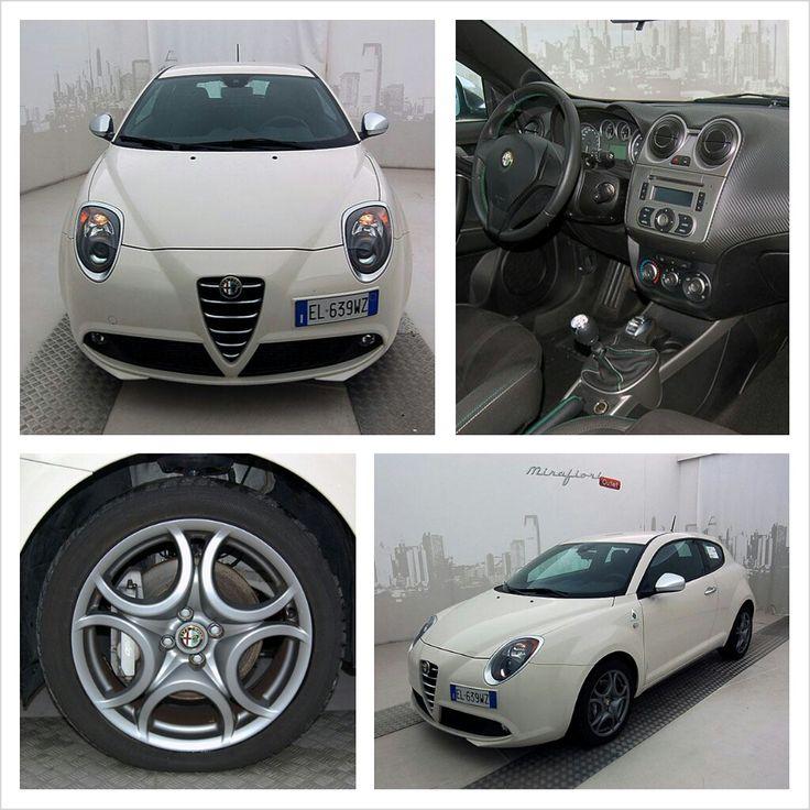 Alfa Romeo Mito 1.4 MultiAir TB 170 CV Quadrifoglio Verde, color Biancospino, a 12.600 €. #AlfaRomeo #Mito #leimperdibili #MirafioriOutlet