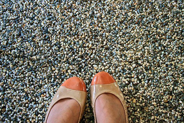 Resin Bound Epoxy Aggregate Pea Pebble Stone Floor