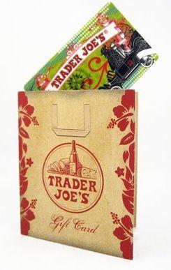 TJ gift card