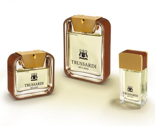 Il profumo dell'architettura: My Land di Trussardi con packaging by Antonio Citterio | Design In