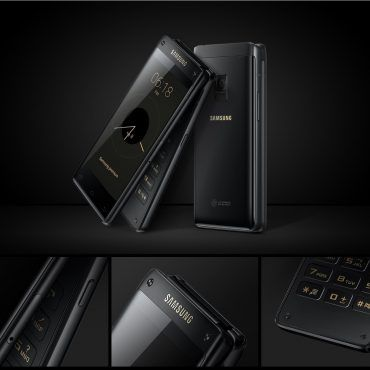 Samsung dévoile le Leader 8, un somptueux téléphone à clapet