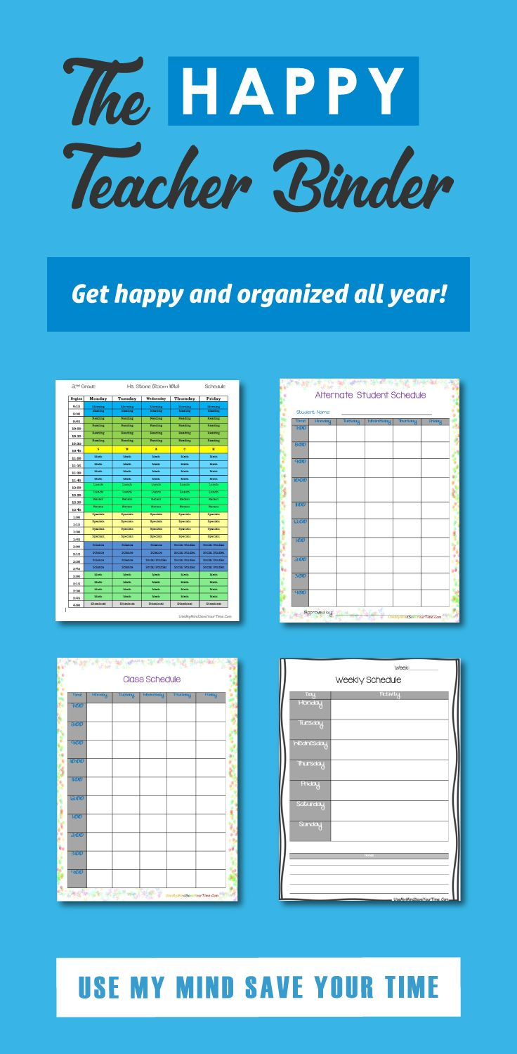 editable teacher binder classroom forms lesson planners free