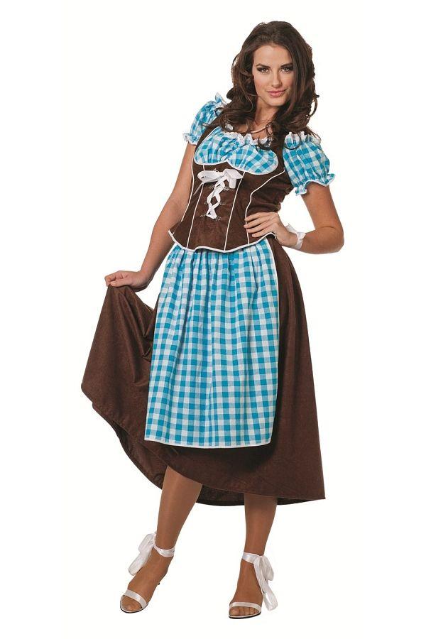 Traditionelles Trachtenkleid für Ihren Oktoberfestbesuch!   Mit diesem Damenkleid steht der nächsten Hüttengaudi nichts mehr im Weg!