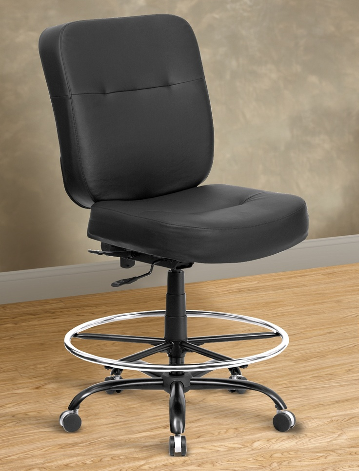 1000 Images About Best Assortment Of Big Tall Office Chairs On Pintere