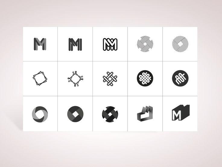 "Symbol Researches for ""La Manufacture du 37bis"" a tapestry formation center located in Paris. #graphic #design #logo #symbol http://www.lamanufacturedu37bis.org"