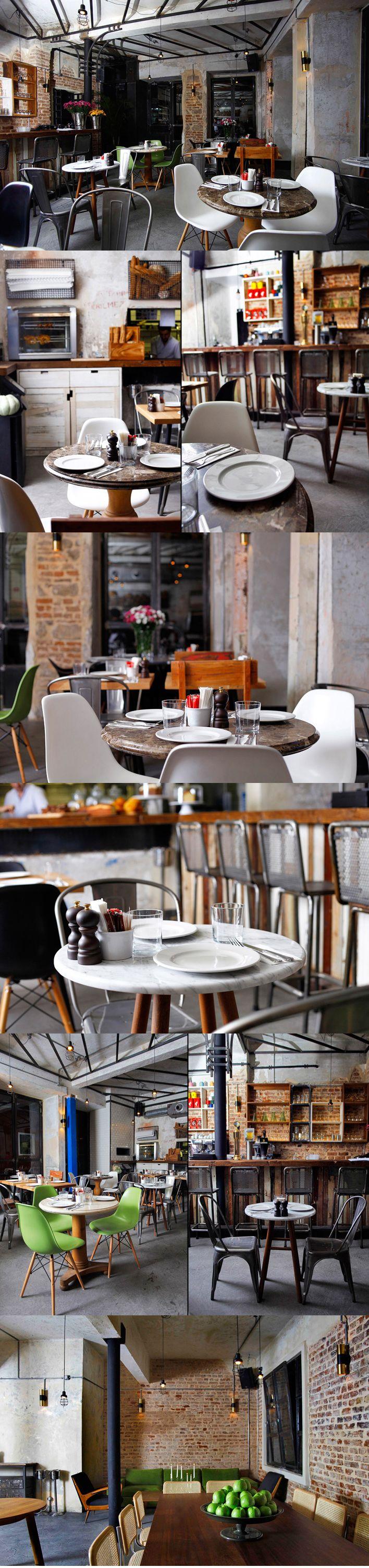 Unter restaurant cafe Istanbul