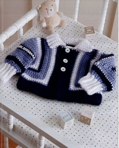 Picture of Surprise Crochet Sweaters For Baby