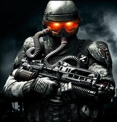 The Helghast from Killzone who I honestly cannot get enough of. They're so awesome!!!