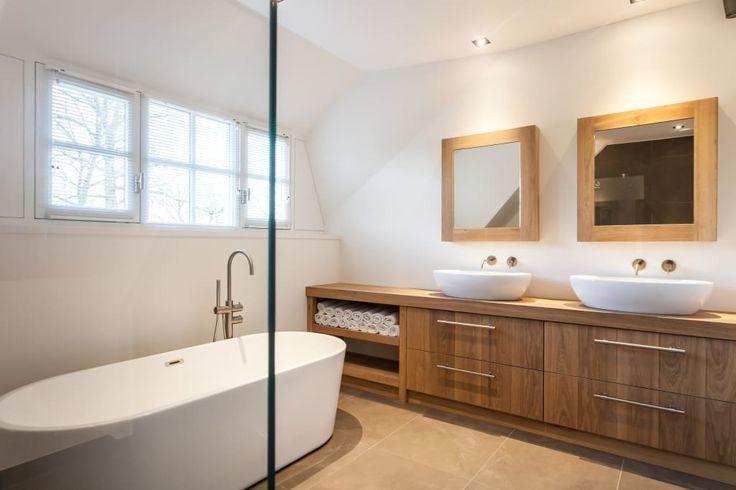 17 beste idee n over modern landelijke badkamers op pinterest modern landelijke keukens - Idee van interieurontwerp ...