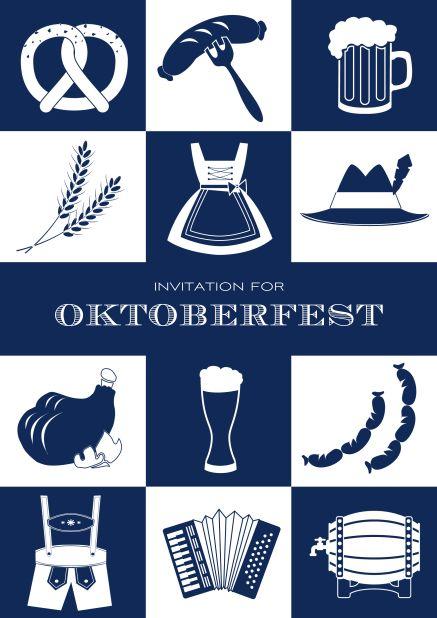 "Oktoberfest ""Oktoberfest essentials""  Use this fun bavarian style Oktoberfes… 5e212453912fa430686becdbcfcc0e58"