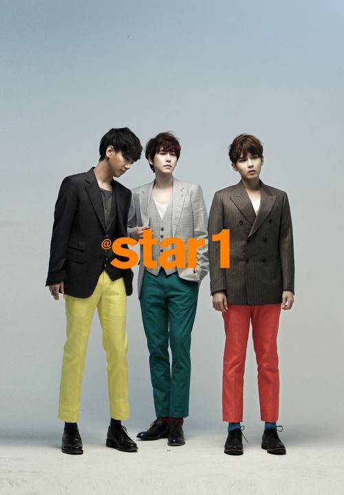Super Junior KRY - @Star1 Magazine March Issue '13