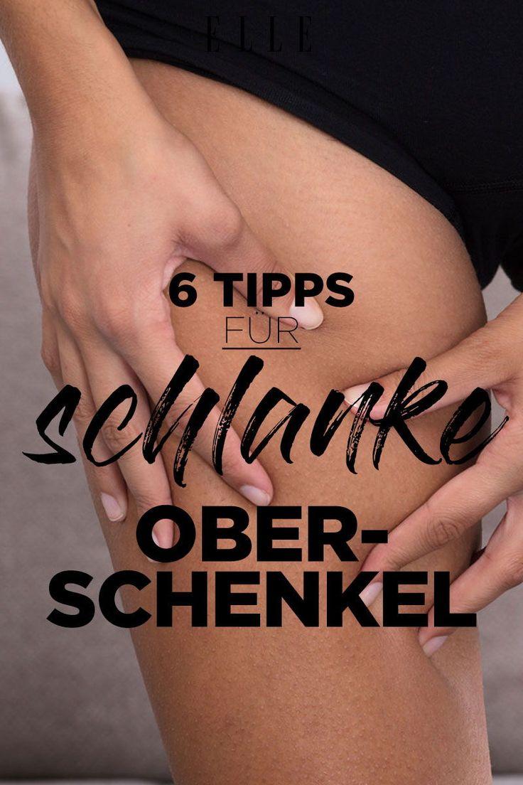 Abnehmen an den Oberschenkeln: 6 Tipps, mit denen es funktioniert