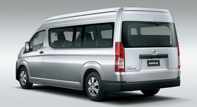 15 Seater Hiace For Rent In Dubai Abu Dhabi And Al Ain 12 Seater Van Rent In 2020 Toyota Hiace Toyota Luxury Van