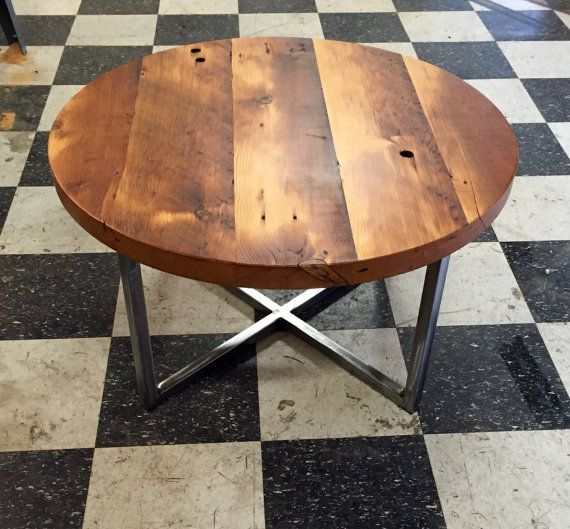 Industrial end table. Industrial nightstand. by UrbanIndustrialNW