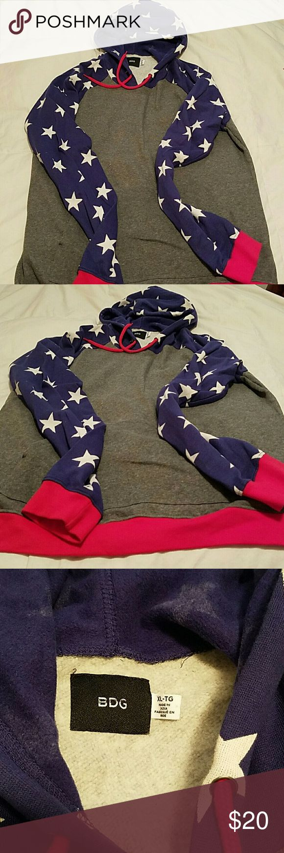 Urban Outfitters BDG hoodie Men's XL. Never worn. Urban Outfitters Jackets & Coats