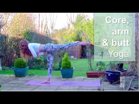 Strengthen your core, tighten your bum and learn some cool arm balances!