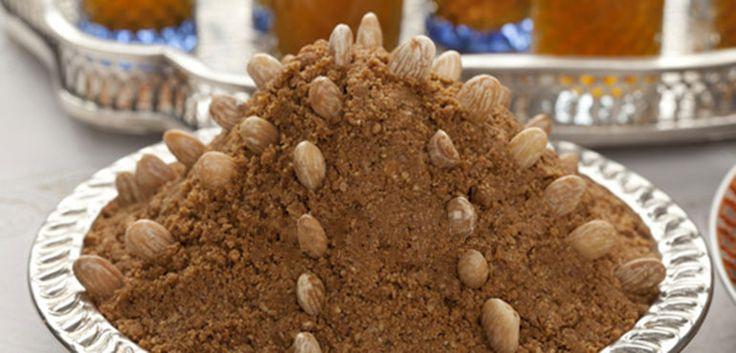 Voici la recette du fameux sellou marocain à base de farines, d'amandes et de graines de sésame. Très simple et rapide à faire, cette gourmandise est souvent présente sur les tables ramanadesques accompagné d'un bon petit thé vert à la menthe.