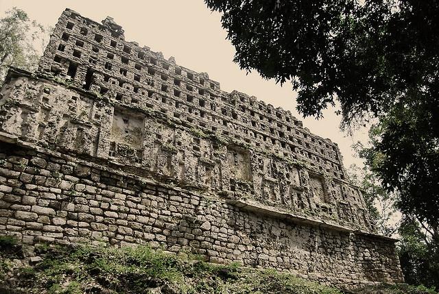 Yaxchilán. México.