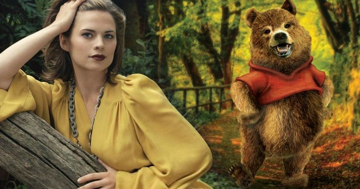 Hayley Atwell Joins Disney's Winnie the Pooh Live-Action Movie -- Hayley Atwell has signed on to join Ewan McGregor in Disney's Christopher Robin, which offers a new take on Winnie the Pooh. -- http://movieweb.com/christopher-robin-movie-cast-hayley-atwell/