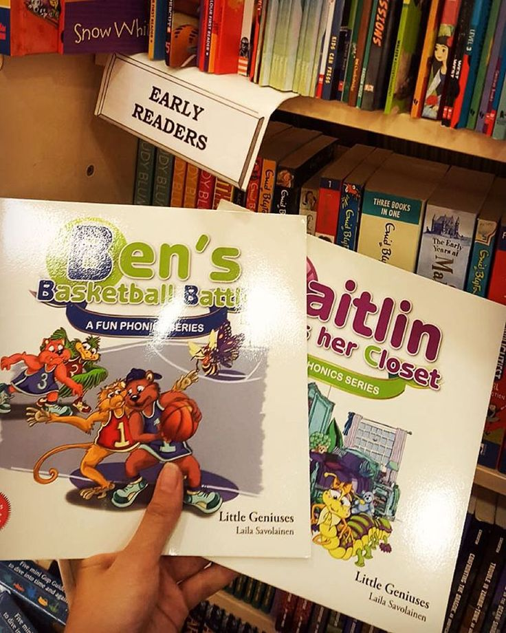 Great to see A Fun Phonics Series on the shelves at Dymocks! #dymocks #reading #littlegeniuses