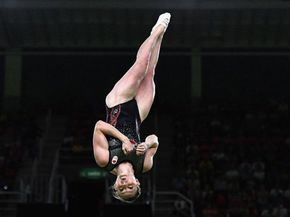 Yes, Trampoline is a real sport at the Olympics, and it's crazy fun to watch