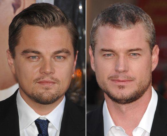 Leonardo DiCaprio vs. Eric Dane  'Shutter Island' star Leonardo DiCaprio and 'Grey's Anatomy' actor Eric Dane both have mastered that Hollywood heartthrob look perfectly