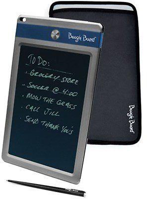 Customer Reviews Boogie Board Jot 8.5 LCD EWriter Electronic Notepad  Sleeve Case Bundle - Blue