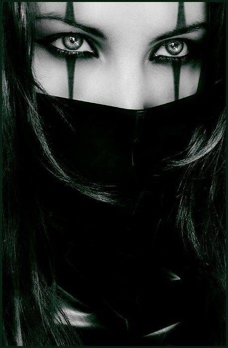 | Female Ninja Makeup | Ninjas/ Assassins/ Warriors | Pinterest | For Women Pirates And Girls