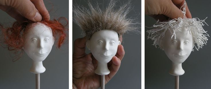 Art doll instruction. Marlaine Verhelst teaches a lot! She works in paperclay and kiln-fired porcelain.